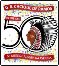 Logomarca do Cinquentário - G. R. Cacique de Ramos