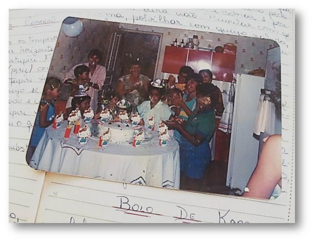 Memória de Cozinha - Festa de aniversário na cozinha da Dona Tereza