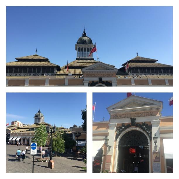 Mercado Central de Santiago - Chile