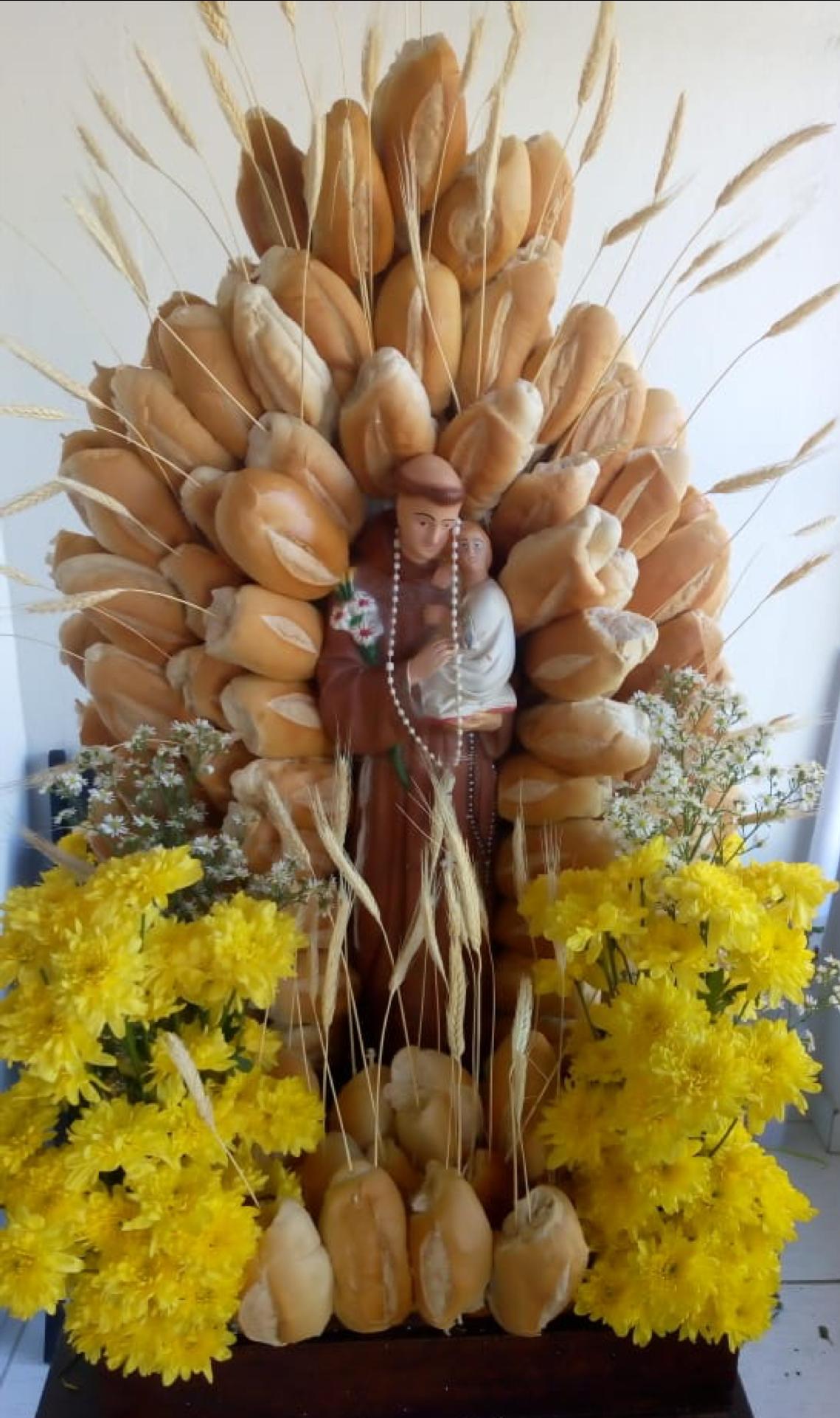 Andor da caminhada em celebração ao milagre dos pães Santo António, em Irará / Bahia - 2018