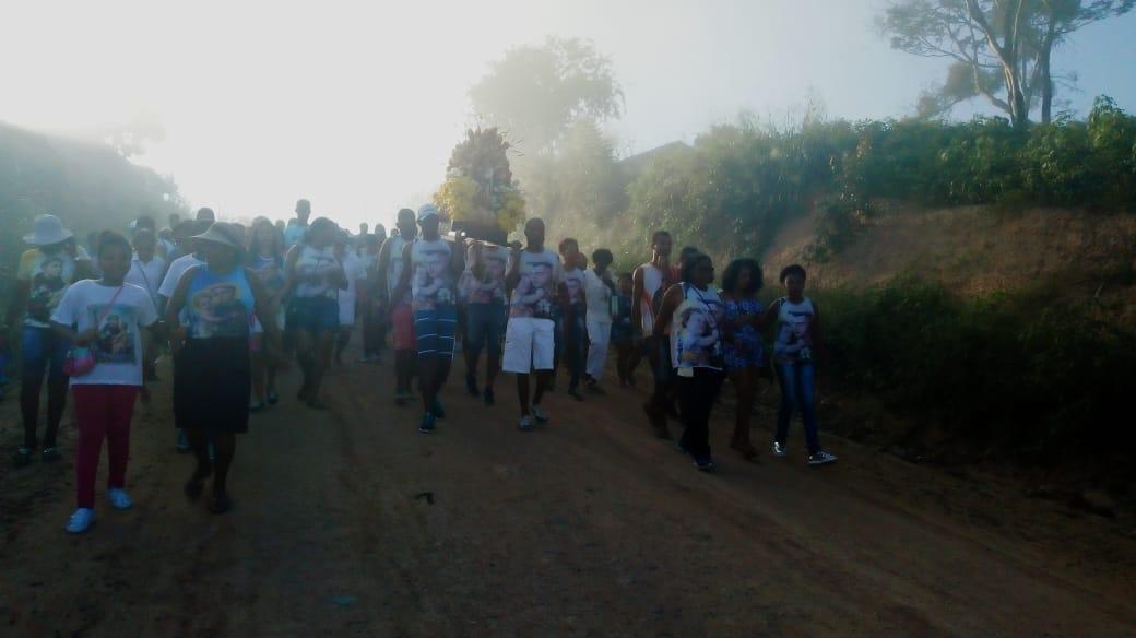 Caminhada em celebração ao milagre dos pães Santo António, em Irará / Bahia - 2018
